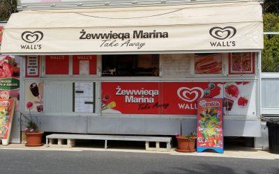 Mgarr Marina Kiosk