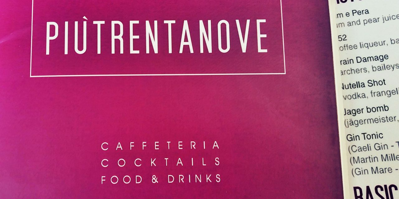 Piùtrentanove Lounge Bar