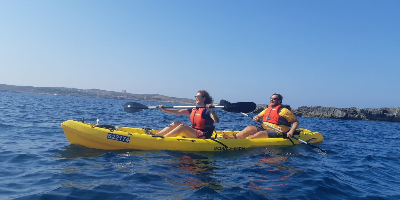 What an amazing paddling adventure with Kayak Gozo